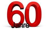 60 Jahre — Stock Photo