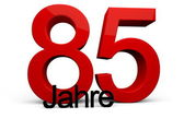 85 Jahre — Stock Photo