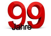 99 Jahre — Stock Photo