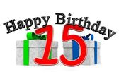 Birthdaypresents — Foto de Stock