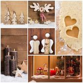 Handmade christmas decoration — Stok fotoğraf