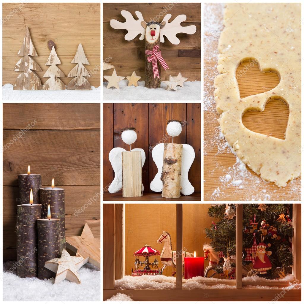 Handmade christmas decoration stock photo jeanette for Handmade decoration