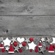 Christmas decoration border — ストック写真