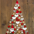 Christmas tree decoration — Foto Stock
