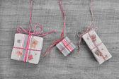 Christmas Post boxes — Stock Photo