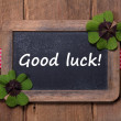 ������, ������: Good luck old chalkboard with text