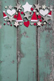 Christmas decoration at top — Stock Photo