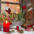 Classic Christmas atmosphere — Stockfoto