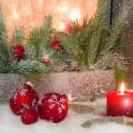 Classic Christmas atmosphere — Stock Photo