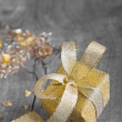 Golden gift box for christmas — Stock Photo #33727613