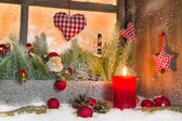 Classic Christmas atmosphere — Stock Photo