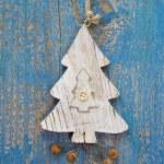Handmade christmas tree decoration — Stock Photo #33733327