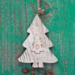 Handmade christmas tree decoration — Stock Photo #33733399