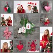 Classic christmas decoration — Stockfoto