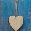 Wooden heart — Stock Photo #34178677