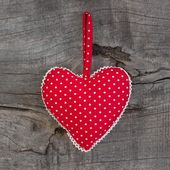 Spotted heart of love — Stock Photo