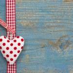 Dotted heart of love — Zdjęcie stockowe