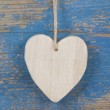 Wooden heart — Stock Photo #34182687