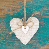 λευκή βίβλο καρδιά — Φωτογραφία Αρχείου