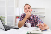 Learning is so damn hard — Stock Photo