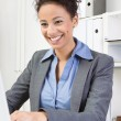 Attractive businesswoman — Foto Stock