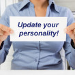 Update your personality — Stock Photo