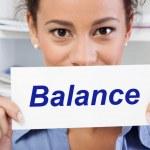 Balance in life — Stock Photo