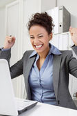 Successful woman — Stock Photo