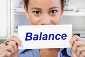Balance in life — Stock Photo