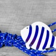 Stock Photo: Fish maritime decoration