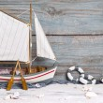 Sailboat decoration — Stock Photo #34632023