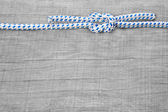 Knots nautical background — Foto Stock