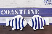 Nautical maritime decoration — Stock Photo