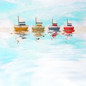 Blue Maritime Decoration — Stock Photo