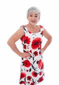 Attractive grandmother — Stok fotoğraf