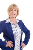 Mature business woman — Stock Photo