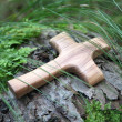 Wooden cross — Stock Photo #36028161