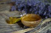 Levandulový olej — Stock fotografie