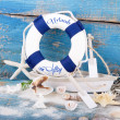 Holiday concept - maritime decoration — Foto Stock