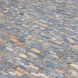 Cobblestone pavement background — Stock Photo