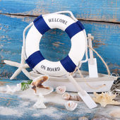 Holiday concept - maritime decoration — Stockfoto