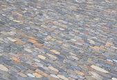Cobblestone pavement background — Stock Photo