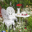 Garden furniture set  — Stock Photo