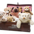 Stock Photo: Plush teddy bears