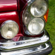 Classic car headlight — Stock Photo