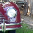 Stock Photo: Classic car headlight