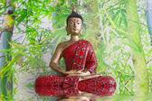 Buda heykelcik — Stok fotoğraf