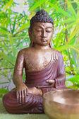 Buddha figurine — Stock Photo