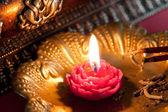 Meditation with Incense — Stok fotoğraf