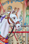 Carousel with horse — Stock Photo